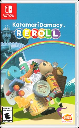 Katamari Damacy REROLL Switch cover (ARRKA)