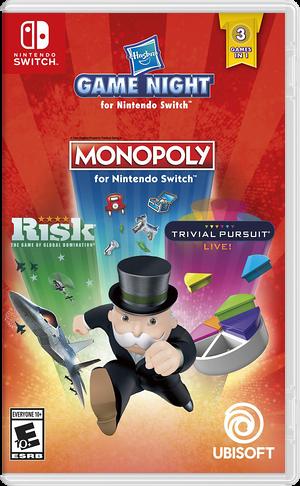 Hasbro Game Night Switch cover (ARRUA)