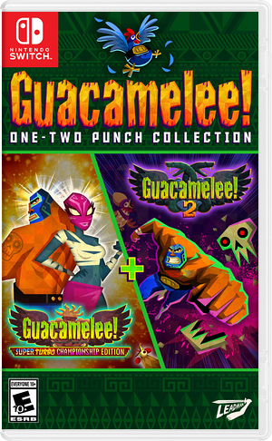 Guacamelee One Two Punch Collection Switch cover (AS6YA)