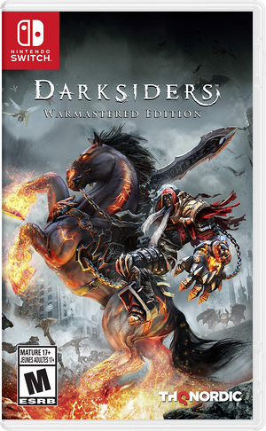 Darksiders - Warmastered Edition Switch cover (ASFSA)