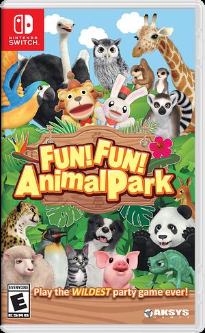 FUN! FUN! Animal Park Switch cover (ASGPA)