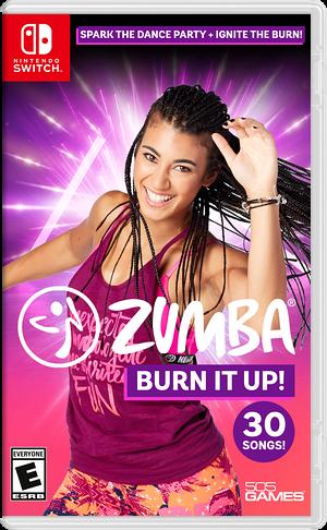 Zumba Burn It Up! Switch cover (ASLUA)