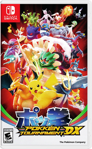 Pokken Tournament DX Switch cover (BAAYA)