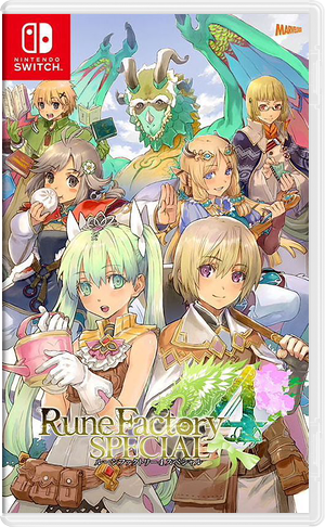 Rune Factory 4 Special Switch cover (AR5EE)