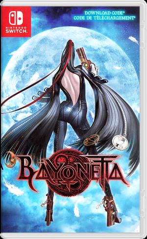 Bayonetta 2 Switch cover (AE98A)