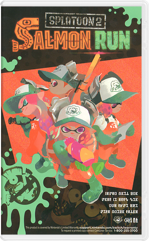Splatoon 2 Switch cover (AAB6B)