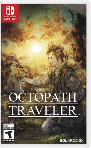 Octopath Traveler Switch cover (AGY7B)