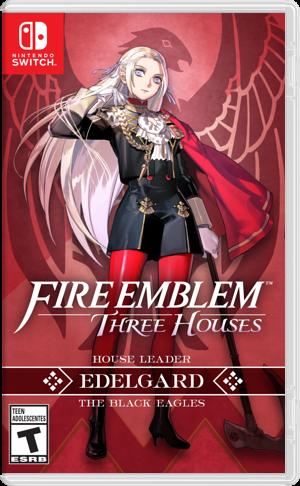 Fire Emblem: Three Houses Switch cover (ANVYA)