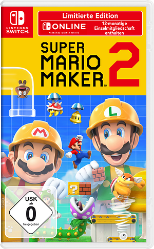 Super Mario Maker 2 Switch cover (BAAQA)
