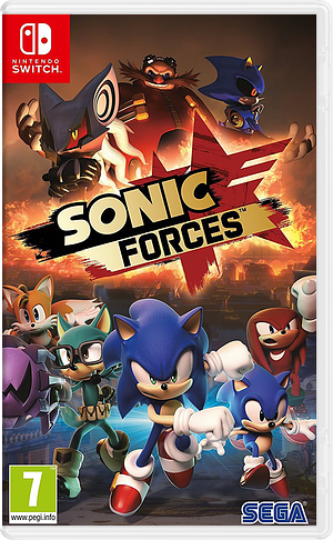 Sonic Forces Switch cover (ABQLB)