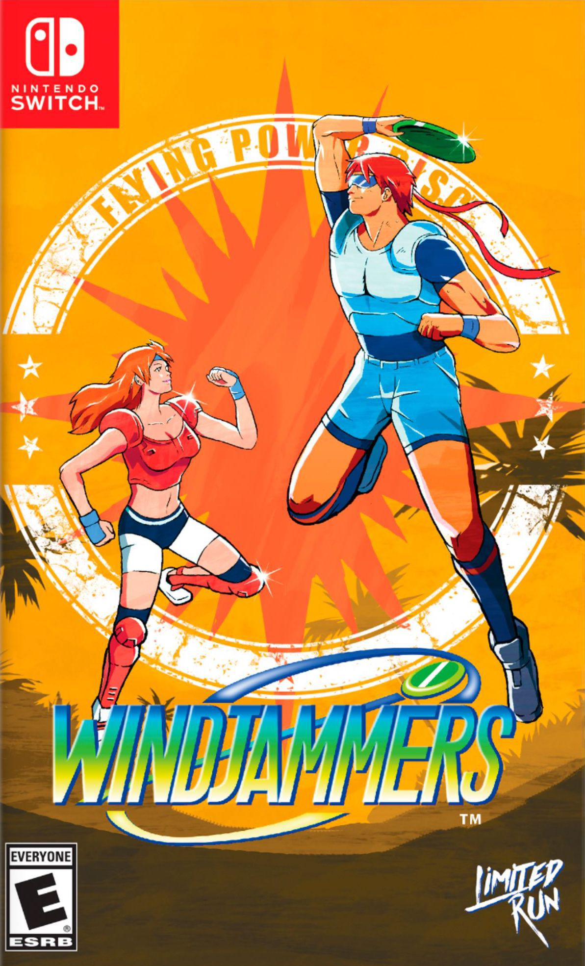 Windjammers Switch cover (AQQ2A)