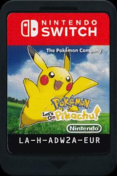 Pokémon:Let's Go, Pikachu Switch cover (ADW2A)