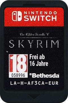 The Elder Scrolls V: Skyrim Switch cover (AF3CA)
