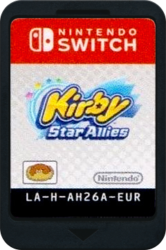 Kirby Star Allies Switch cover (AH26A)
