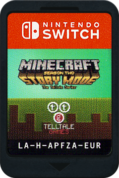 Minecraft - Story Mode - Season Two Switch cover (APFZA)