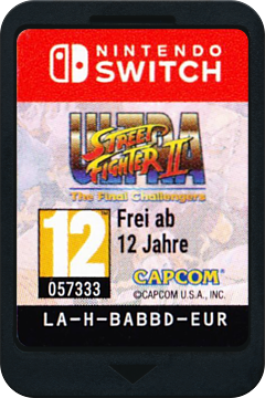 Ultra Street Fighter II: The Final Challengers Switch cover (BABBD)