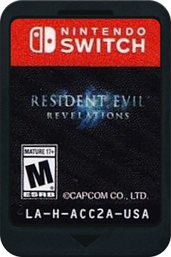 Resident Evil: Revelations Collection Switch cover (ACC2A)