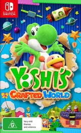 Yoshi's Crafted World Switch cover (AEA2A)