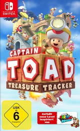 Captain Toad: Treasure Tracker Switch cover (AJH9A)