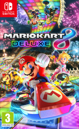Mario Kart 8 Deluxe Switch cover (AABPA)