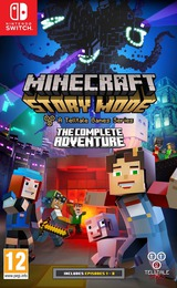 Minecraft: Story Mode - The Complete Adventure Switch cover (ACS3A)