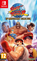 Street Fighter™ 30th Anniversary Collection Switch cover (AK6JA)