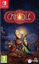 Candle - The Power of the Flame  Switch cover (AQA5B)