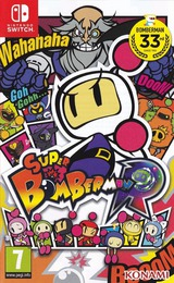 Super Bomberman R pochette Switch (AAB8A)