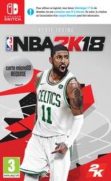 NBA 2K18 pochette Switch (AB38A)