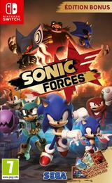 Sonic Forces pochette Switch (ABQLB)