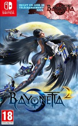 Bayonetta 2 pochette Switch (AE98A)