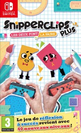 Snipperclips Plus: Cut It Out, Together! pochette Switch (AEXYA)