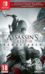 Assassin's Creed III Remastered pochette Switch (AQAJA)