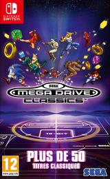 SEGA Mega Drive Classics pochette Switch (AQGKA)