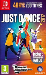 Just Dance 2017 pochette Switch (BAAAA)