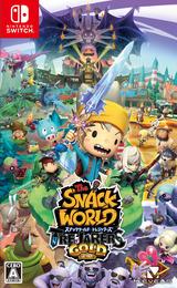 スナックワールド トレジャラーズ ゴールド Switch cover (AJMUA)