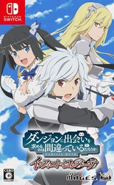 IS IT WRONG TO TRY TO PICK UP GIRLS IN A DUNGEON? INFINITE COMBATE Switch cover (ASPSA)
