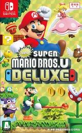New Super Mario Bros. U Deluxe Switch cover (ADALA)