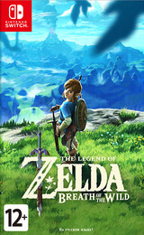 The Legend of Zelda: Breath of the Wild Switch cover (AAAAA)