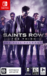 Saints Row: The Third - The Full Package Switch cover (ARGWA)
