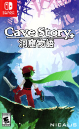 Cave Story+ Switch cover (AB92A)