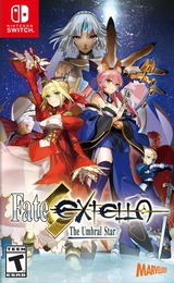 Fate/Extella: The Umbral Star Switch cover (AC8QA)