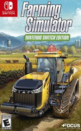 Farming Simulator: Nintendo Switch Edition Switch cover (AESEA)