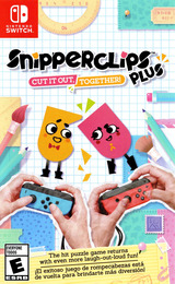 Snipperclips Plus: Cut It Out, Together! Switch cover (AEXYA)