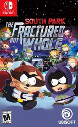 South Park: The Fractured But Whole Switch cover (AFVHA)