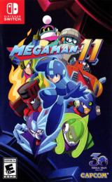 Mega Man 11 Switch cover (ALGCA)