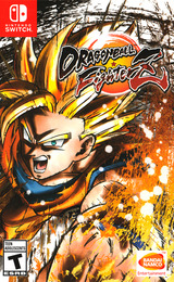Dragon Ball FighterZ Switch cover (AM5WA)