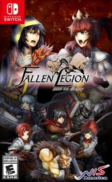 Fallen Legion: Rise to Glory Switch cover (AMUSA)