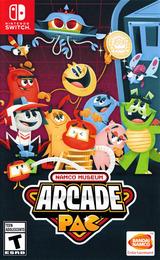 Namco Museum Arcade Pac Switch cover (AP3MA)