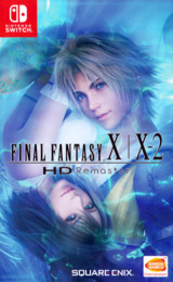 Final Fantasy X X-2 HD Remaster Switch cover (AP2RD)